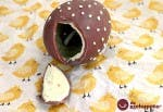 Receta de huevo de Pascua de chocolate