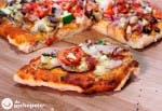 Receta de pizza vegetal