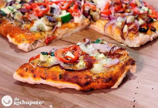 Pizza vegetal. Cómo preparar pizza casera con vegetales