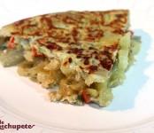 Receta de tortilla vegetal