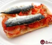 Receta Coca de sardinas