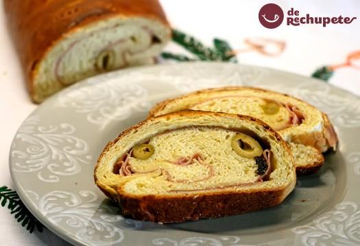 Pan de jamón. Receta venezolana