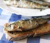 Receta de sardinas asadas