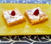 lemon bars cuadraditos de limón