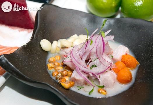 Cebiche clásico peruano