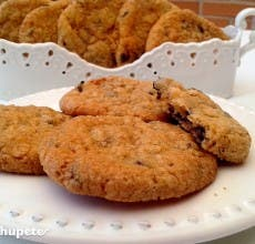 Galletas o cookies de chocolate. Chocolate Crunch Cookies