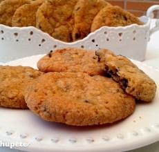 Galletas o cookies de chocolate