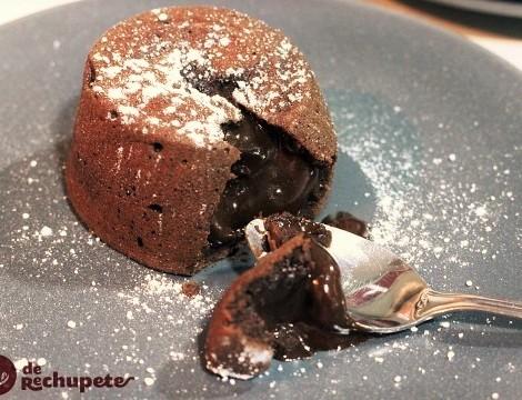 Coulant o muerte por chocolate