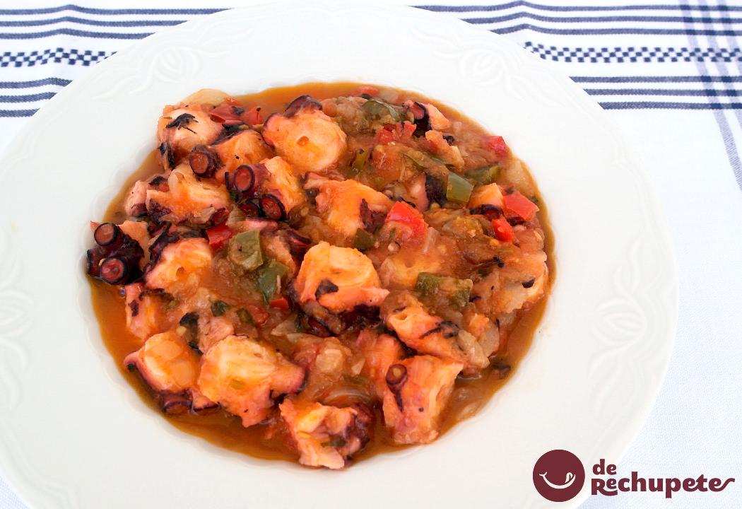 Pulpo a lo sochantre receta gallega Como se cocina el pulpo