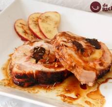 Lomo de cerdo relleno al horno