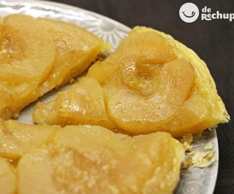 Cómo hacer una tarta Tatin de manzana