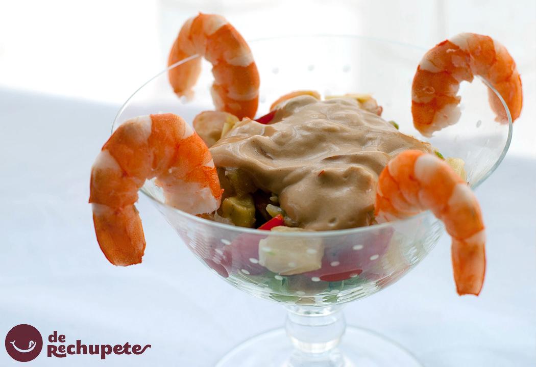 C ctel de marisco receta de navidad - Coctel de marisco ingredientes ...