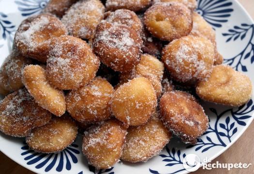 bunhuelos de manzana