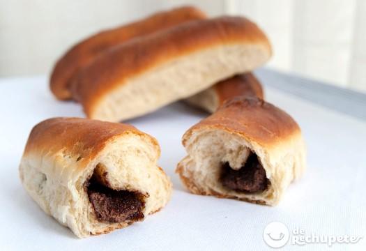 Bollicaos de Nutella. Bollos de chocolate