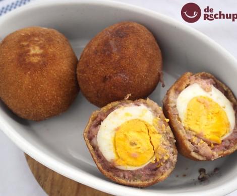 Huevos escoceses. Scotch Eggs