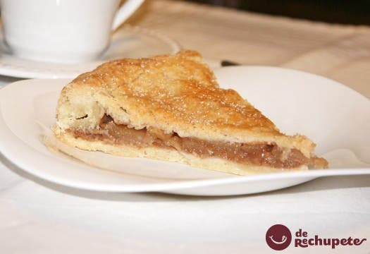 Tarta de manzana inglesa. Apple Pie