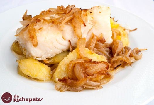 Bacalao a la portuguesa for Como cocinar bacalao al horno