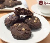 cookies de chocolate con pepitas