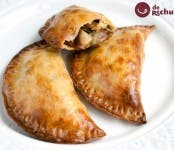 empanadillas de puerro y bacon