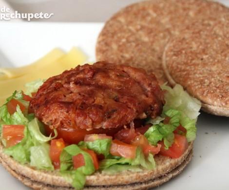 Sandwich casero de atún con soja