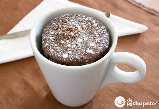 Mug cake de chocolate perfecto