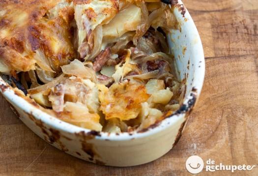 Tartiflette o Patatas con queso a la francesa