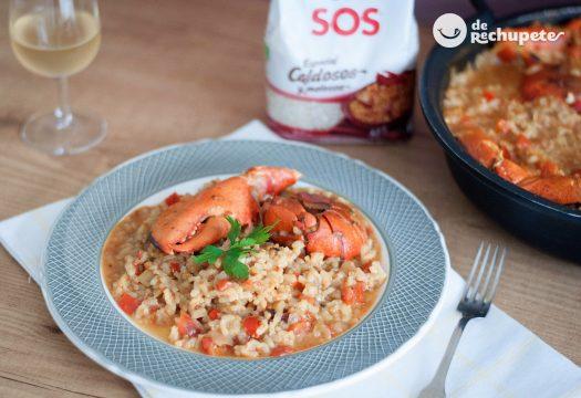 Cómo preparar arroz con bogavante