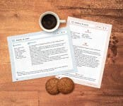 Fichas para imprimir y rellenar con tus recetas