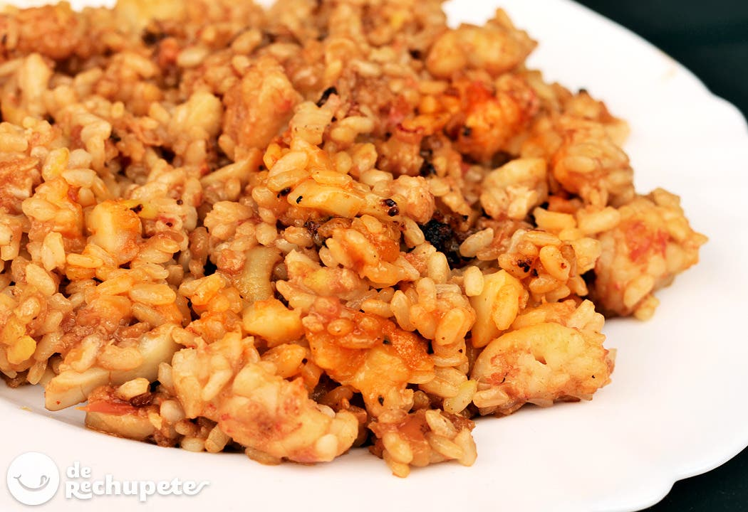 Arroz a banda receta tradicional valenciana for Como cocinar 5 kilos de arroz