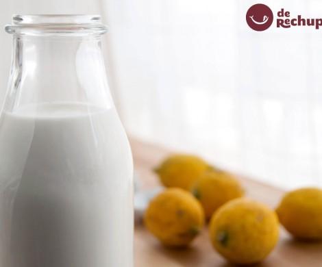 Cómo preparar un buttermilk casero o suero de mantequilla