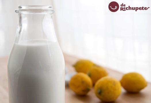 Cómo preparar un buttermilk casero