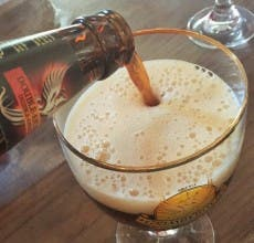 Cervezas Grimbergen y el Ave Fénix