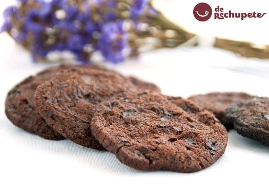 Galletas sablé de chocolate
