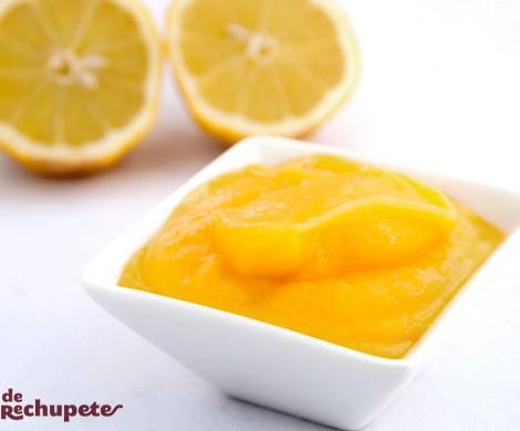 Crema de limón casera. Lemon Curd