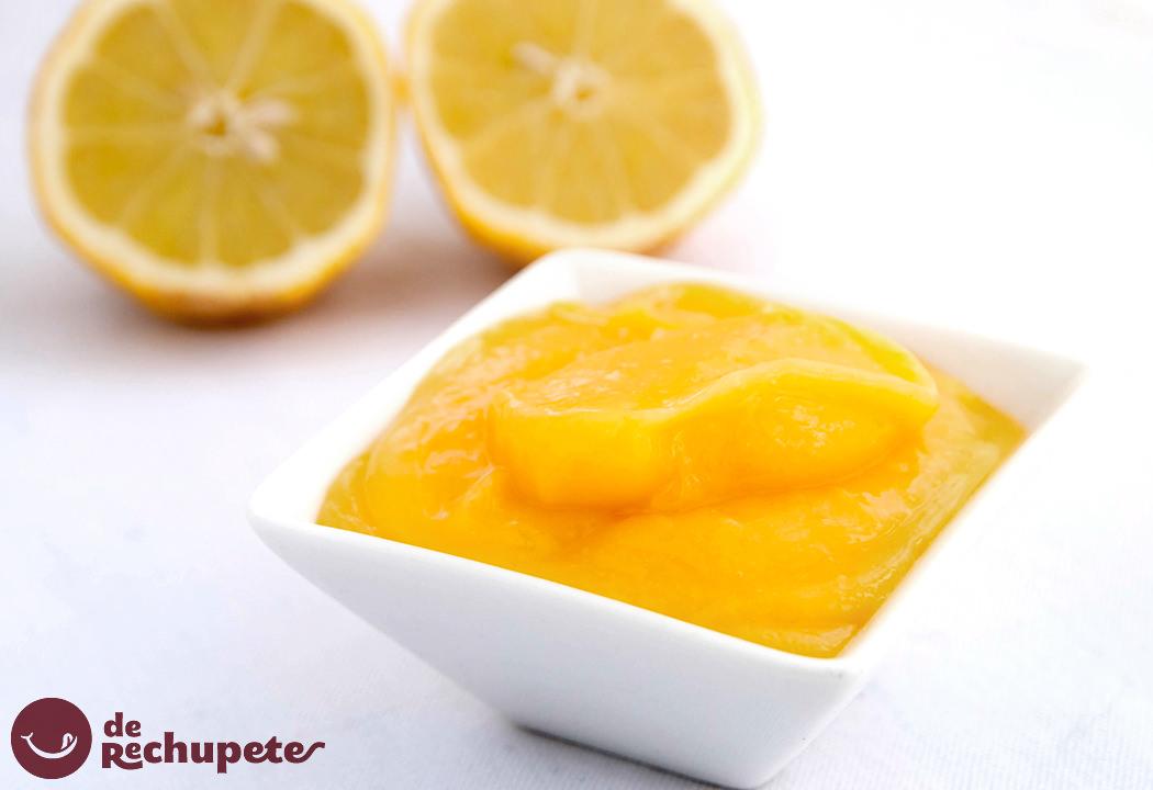 Crema de limón. Lemon Curd