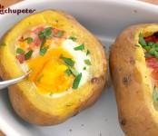 patata asadas rellenas