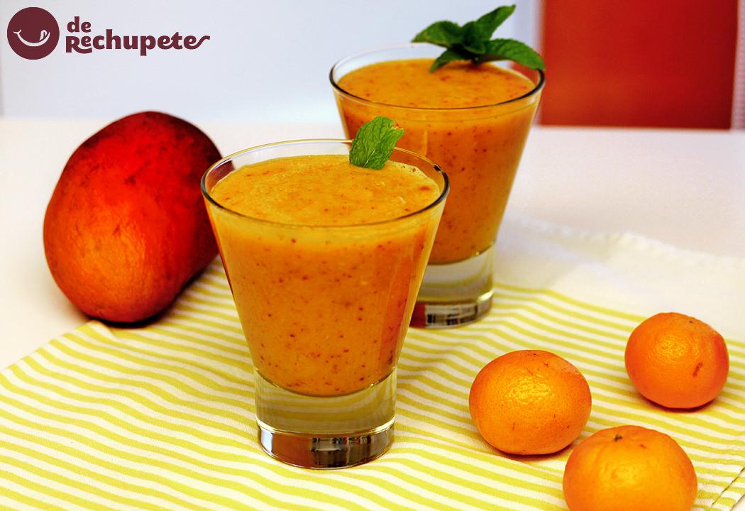 Smoothies o batidos de frutas