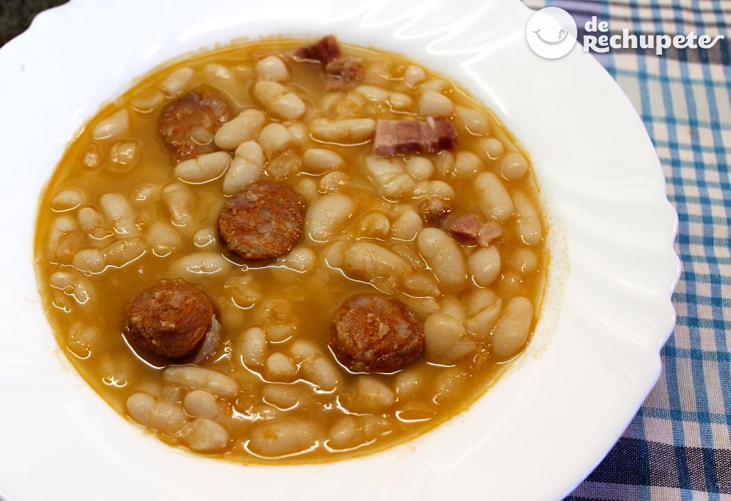 Alubias con chorizo - Judias con chorizo y patatas ...