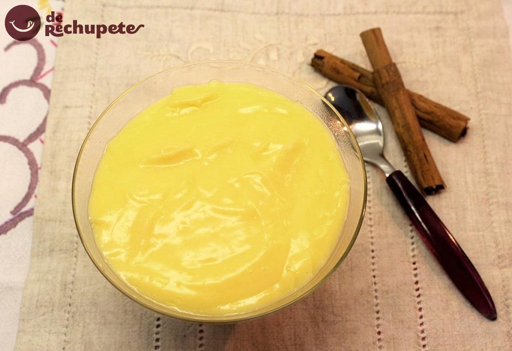 Cómo hacer crema pastelera. Receta fácil que siempre sale bien
