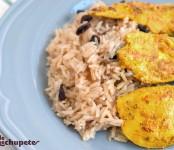 escalopines_pollo_arroz_oriental