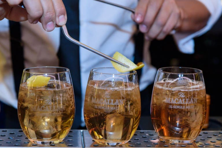 2 cócteles de whisky para estas fiestas