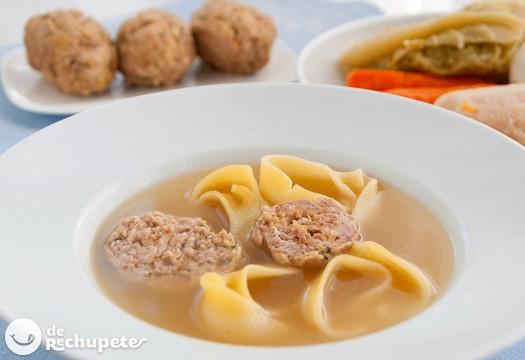 Escudella o cocido catalán