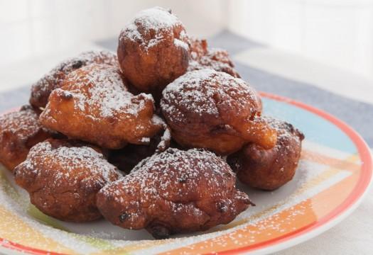 Fritole. Buñuelos italianos