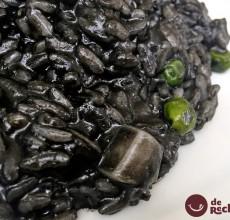 Risotto negro con sepia