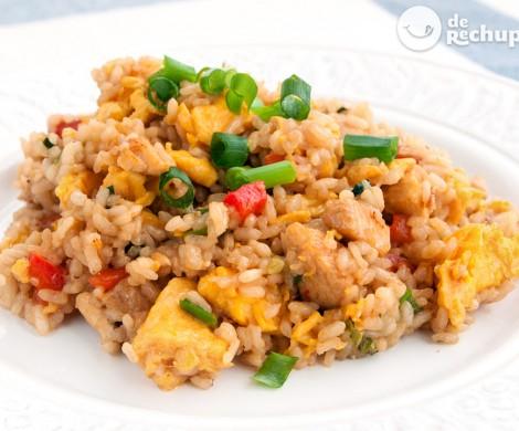 Cómo hacer arroz chaufa. Receta peruana fácil y sabrosa