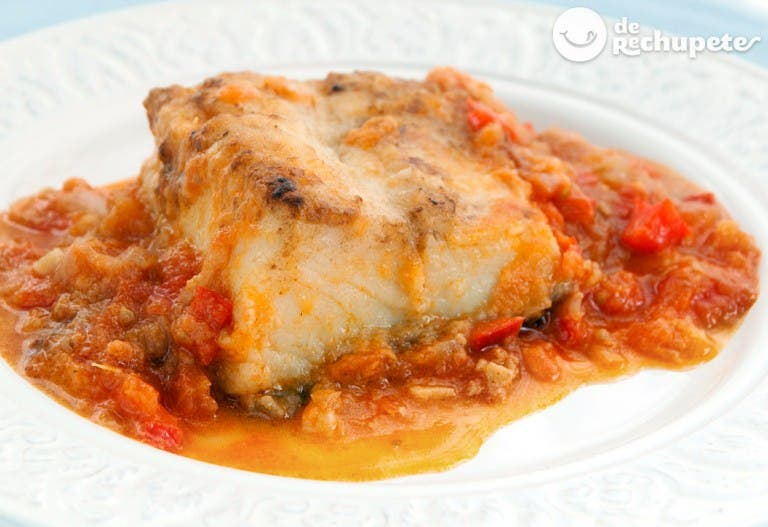 Bacalao con tomate