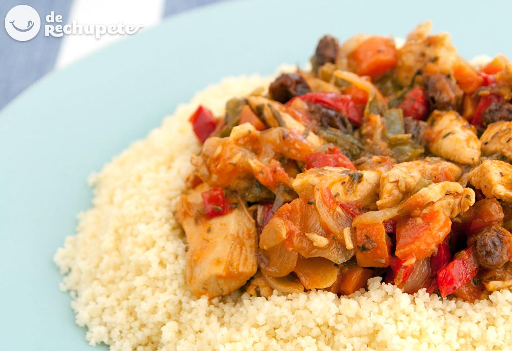 Cuscús Con Pollo Y Verduras Receta Paso A Paso