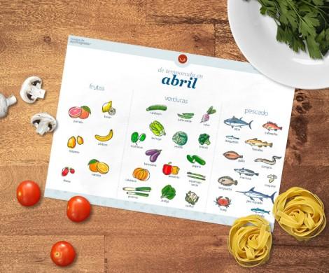 ¿Qué comprar y comer en Abril? Alimentos y recetas de temporada
