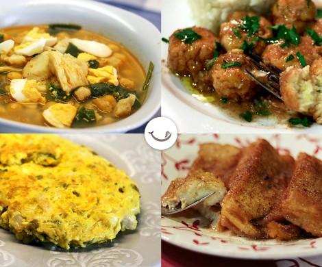 Nuestras mejores recetas de Semana Santa y Pascua