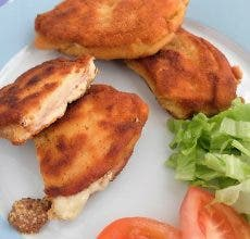 Sanjacobos de pollo